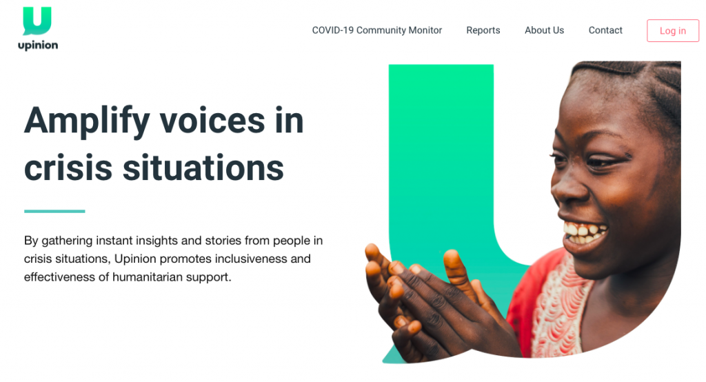 upinion ngo data collection
